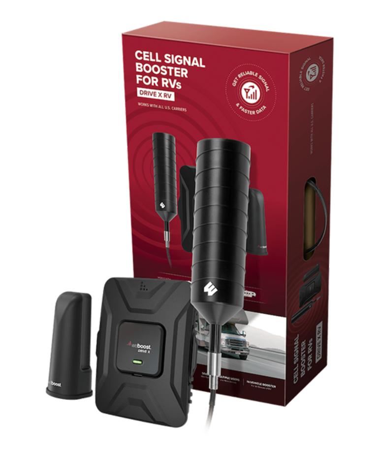 weBoost Drive X RV Cellular Signal Booster Kit