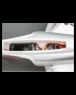 E-FLITE HABU STS 70MM EDF SMART JET RTF WITH SAFE
