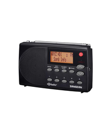 SANGEAN HD RADIO / FM-STEREO / AM POCKET RADIO