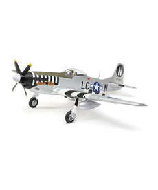 E-FLITE P-51D MUSTANG 1.2M BNF BASIC WITH AS3X AND SAFE SELECT
