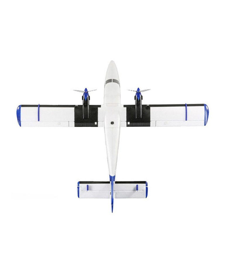 E-FLITE Twin Otter BNF Basic w/AS3X, SAFE, & Floats