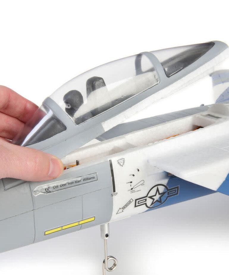 E-FLITE F-15 64MM EDF BNF W/AS3X SAFE