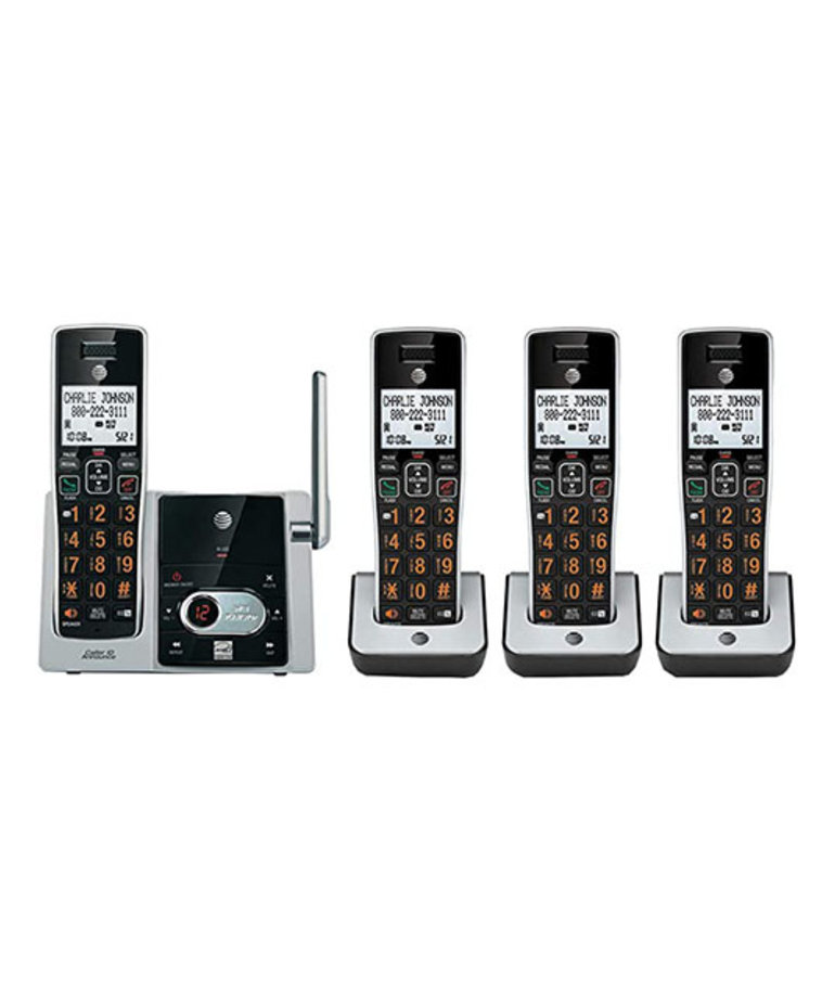 AT&T TELEPHONE 4 HANDSET SYSTEM