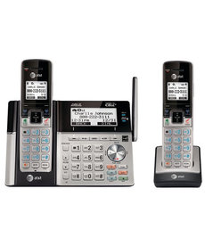 AT&T 2-HANDSET SYSTEM W/ DUAL CALLER ID