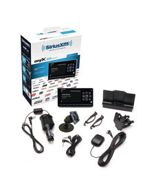 SIRIUS ONYX EZR RADIO WITH VEHICLE KIT