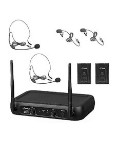 PYLE VHF FIXED-FREQUENCY WIRELESS MICROPHONE SYSTEM
