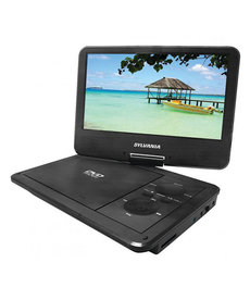"SYLVANIA 9"" SWIVEL-SCREEN PORTABLE DVD"