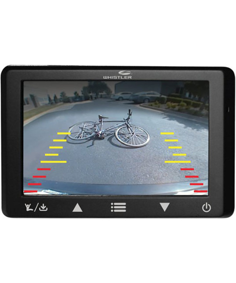 WHISTLER DIGITAL WIRELESS BACKUP CAMERA WITH SOLAR PANELS