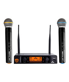 NADY DUAL-TRANSMITTER DIGITAL WIRELESS MICROPHONE SYSTEM