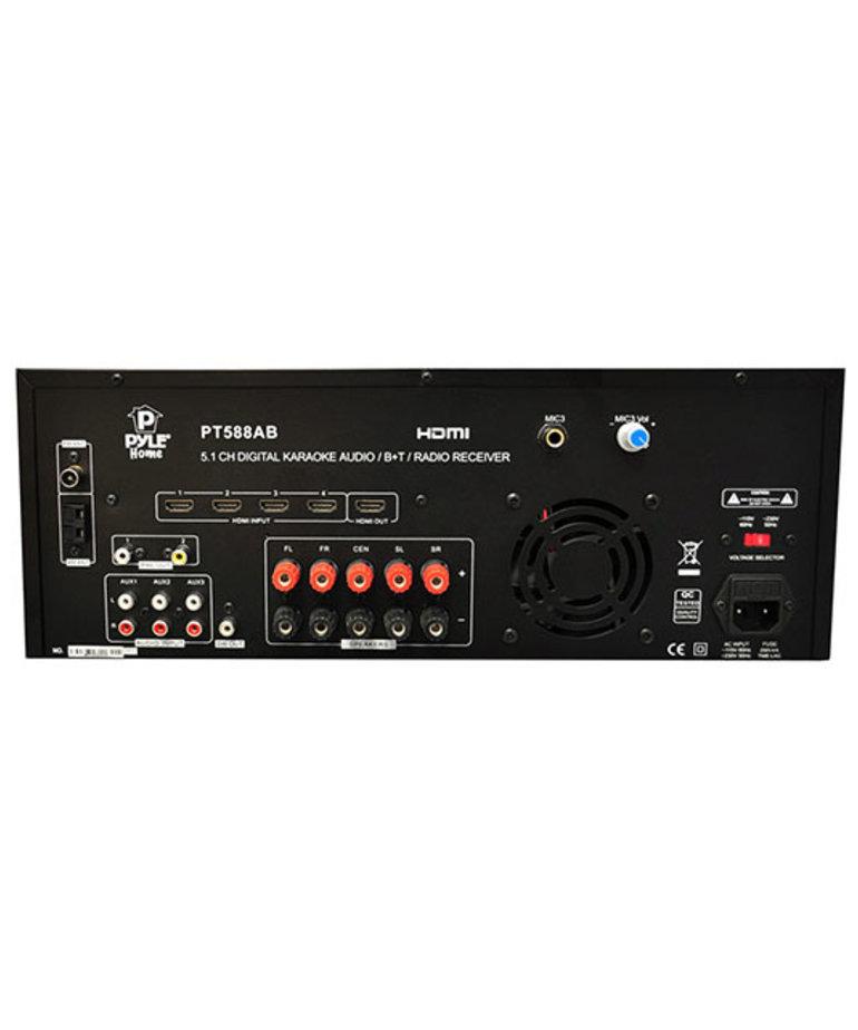 PYLE PYLE 5.1CH RECIVR W HDMI/BLTH/KARAOKE