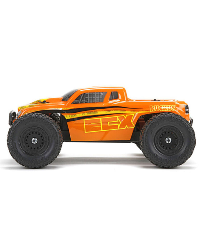 ECX 1/18 RUCKUS 4WD MONSTER TRUCK RTR BLACK