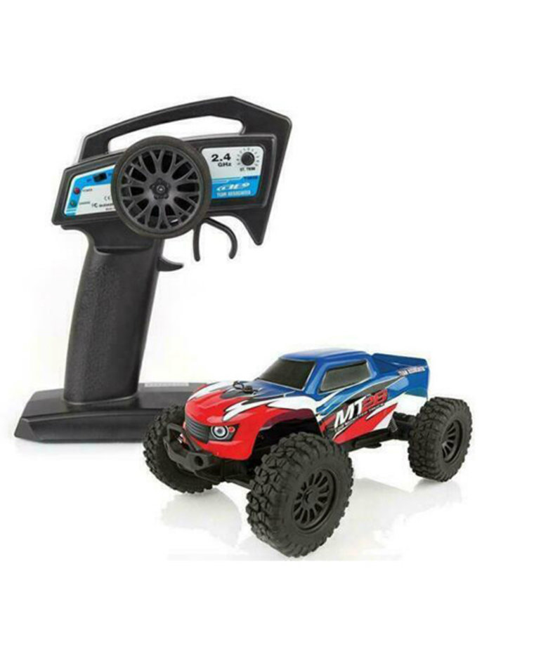 TEAM ASSOCIATED 1/28 2WD MT28 MONSTER TRUCK BRUSHED RTR