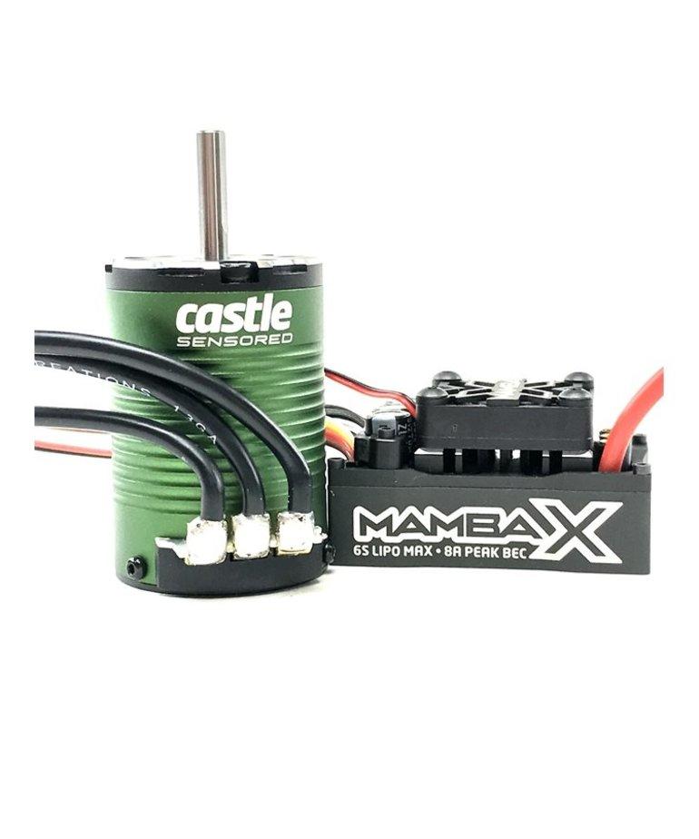 CASTLE CREATIONS MAMBA XSCT PRO 1410 BRUSHLESS 3800KV 5MM SHAFT