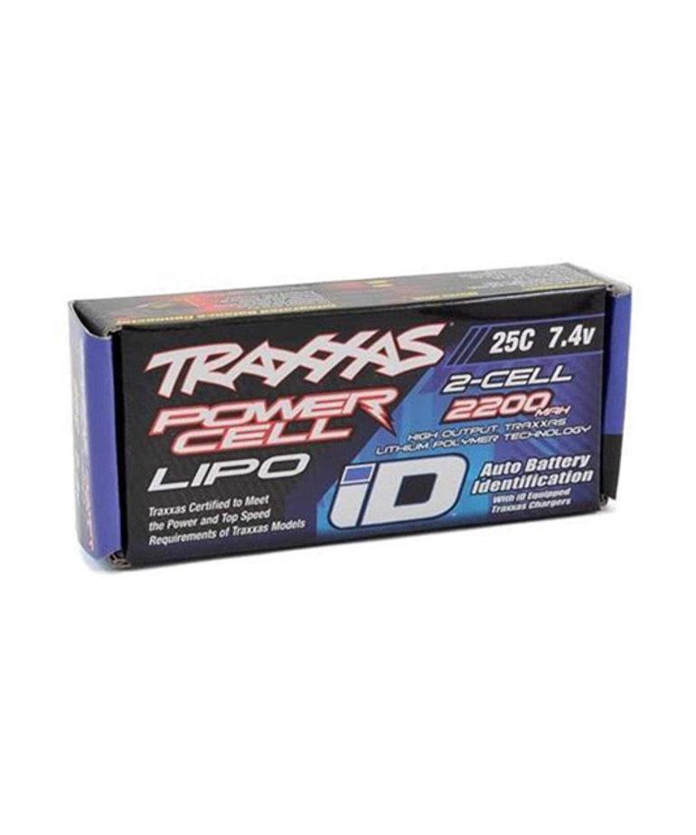 TRAXXAS 2200MAH 7.4V 2-CELL LIPO