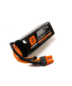 SPEKTRUM 22.2V 3200MAH 6S 30C SMART LIPO BATTERY, IC5