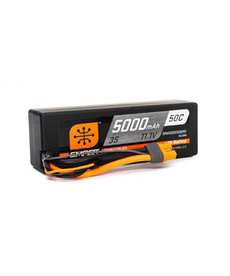 SPEKTRUM 11.1V 5000MAH 3S 50C SMART LIPO BATTERY, HARDCASE, IC3