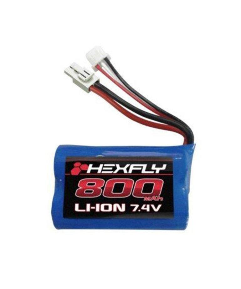 REDCAT LI-ION BATTERY 7.4V 800MAH W/ T PLUG