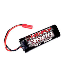 Hexfly 3800 NI-MH 7.2V BATTERY WITH BANANA 4.0 CONNECTOR