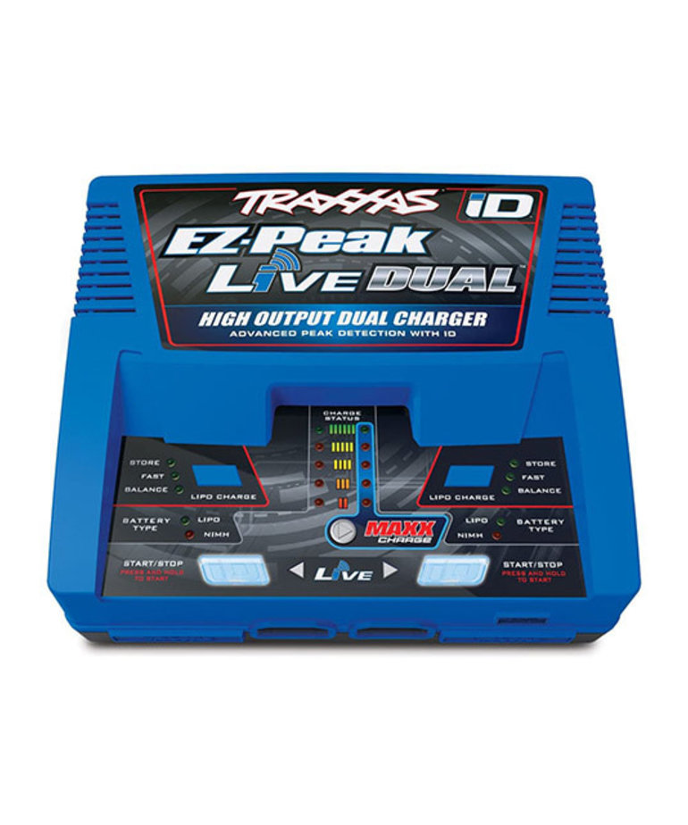 TRAXXAS DUAL 4S MULTI-CHEM CHARGER