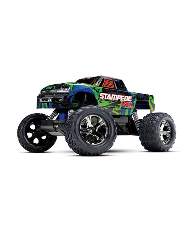 TRAXXAS STAMPEDE VXL RTR GREEN