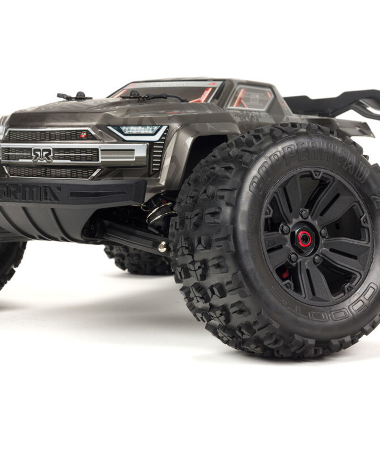 ARRMA 1/8 KRATON 4WD EXTREME BASH ROLLER MONSTER TRUCK, BLACK