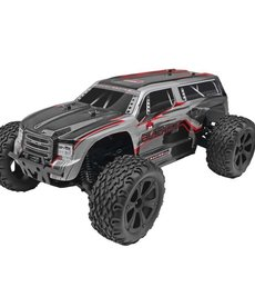 REDCAT BLACKOUT XTE 1/10 SCALE MONSTER TRUCK SILVER