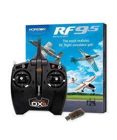 RealFlight 9.5 Flight Simulator Combo with Spektrum DXS and WS2000
