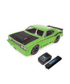 TEAM ASSOCIATED 1/10 DR10 Drag Race Car RTR LiPo Combo, Green
