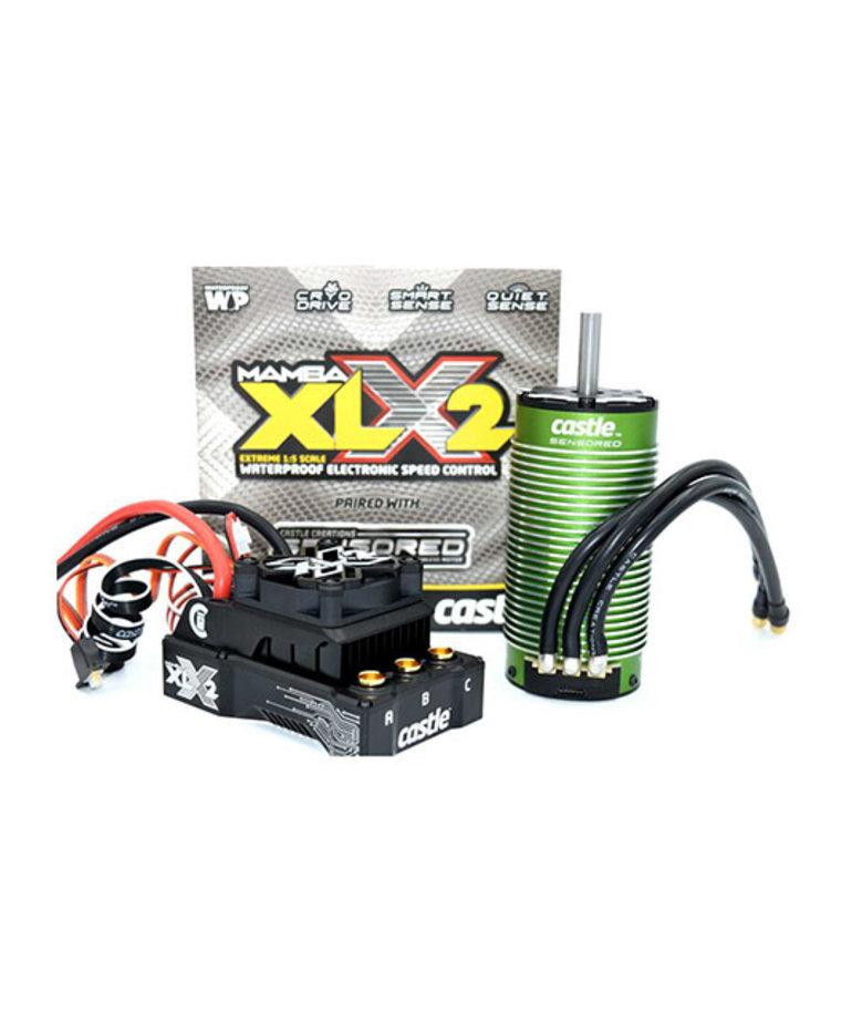 Mamba XLX2, 8S, 33.6V ESC, 20A Peak BEC w/2028-800KV Motor