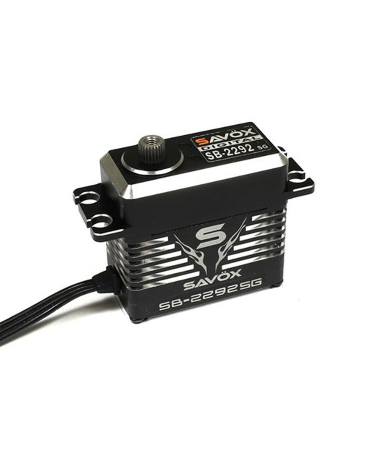 MONSTER PERFORMANCE, BRUSHLESS SERVO BLACK EDITION 0.055SEC / 624.9OZ @ 8.4V