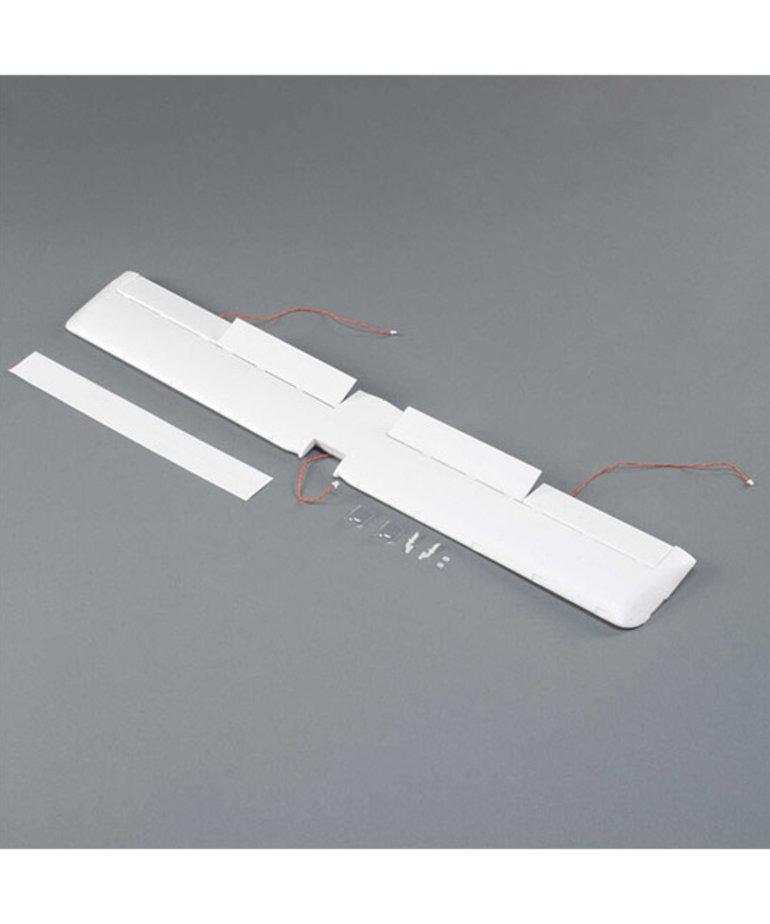 Wing with Servo & LED: UMX Turbo Timber