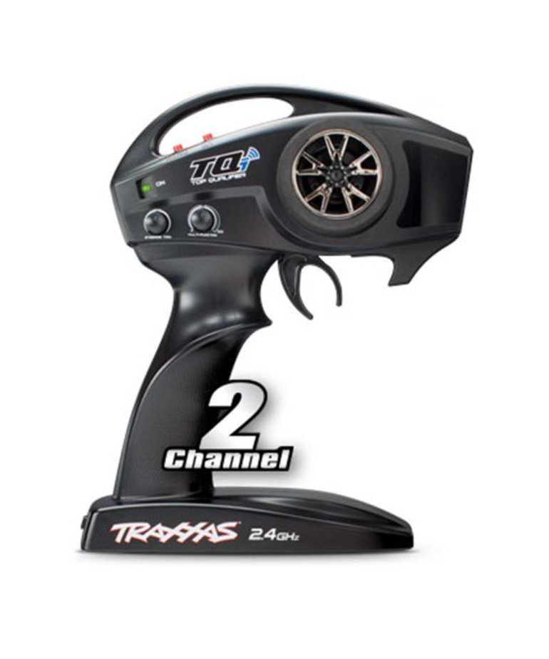 TRAXXAS TQI 2.4 GHZ 2-CHANNEL HIGH-OUTPUT RADIO SYSTEM