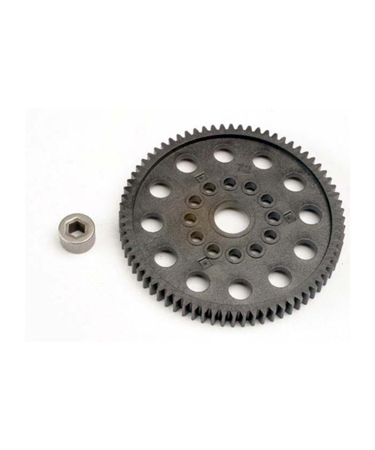 TRAXXAS SPUR GEAR 72-TOOTH