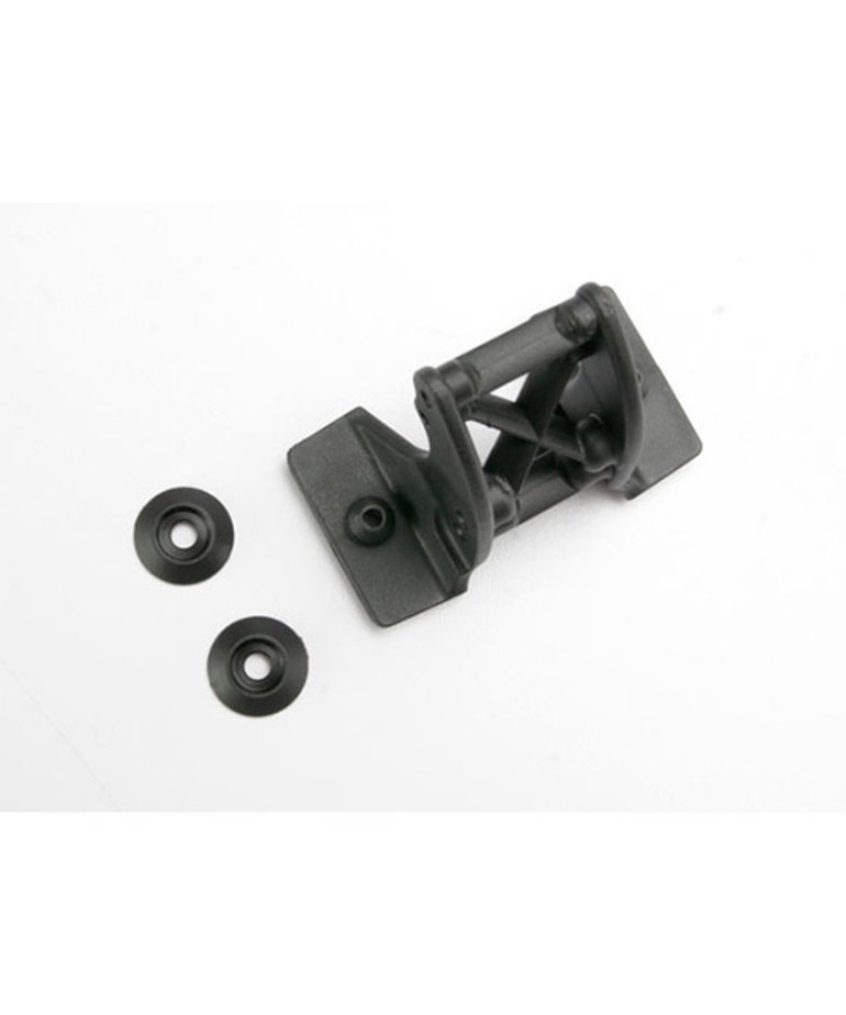 TRAXXAS Wing mount, center / wing washers (for Revo®)