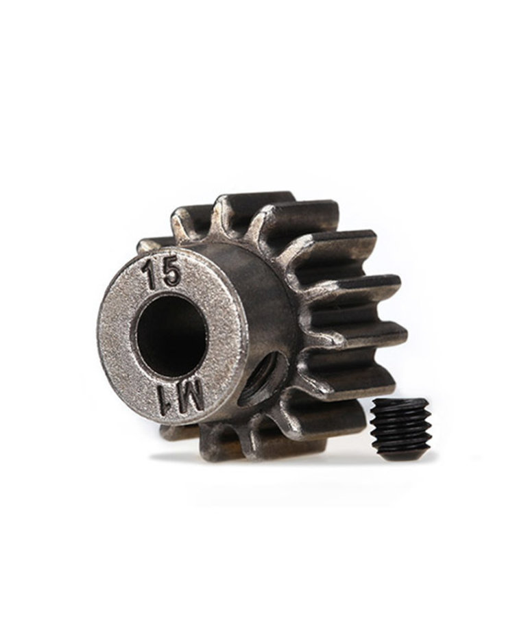 TRAXXAS PINION 15-T 1.0 MP 5MM SHAFT