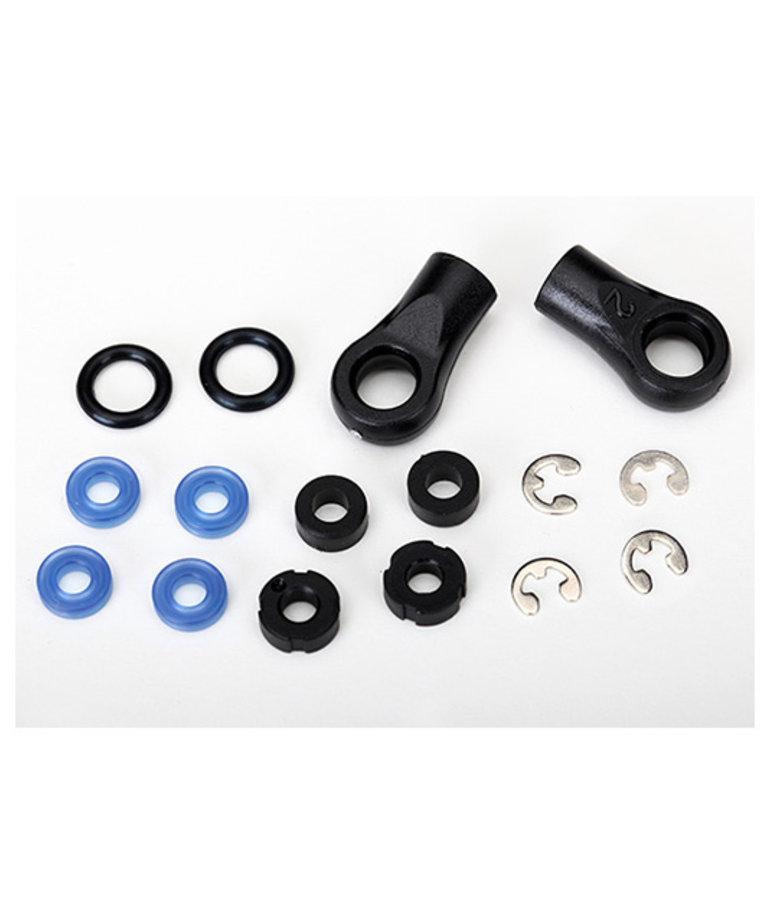 TRAXXAS Rebuild kit, GTS shocks (x-rings, o-rings, pistons, bushings, e-clips, and rod ends)