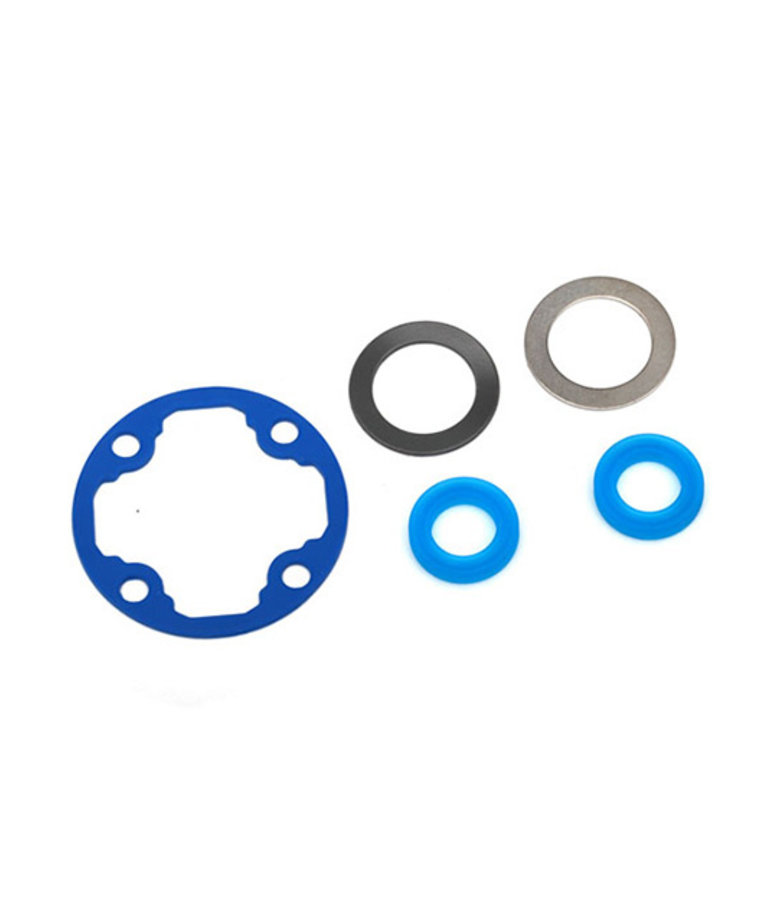 TRAXXAS DIFFERENTIAL GASKET/ X-RINGS (2)