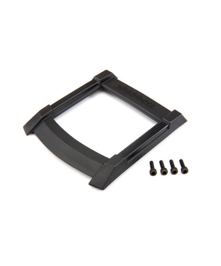 TRAXXAS Skid plate, roof (body) (black)/ 3x10mm CS (4)