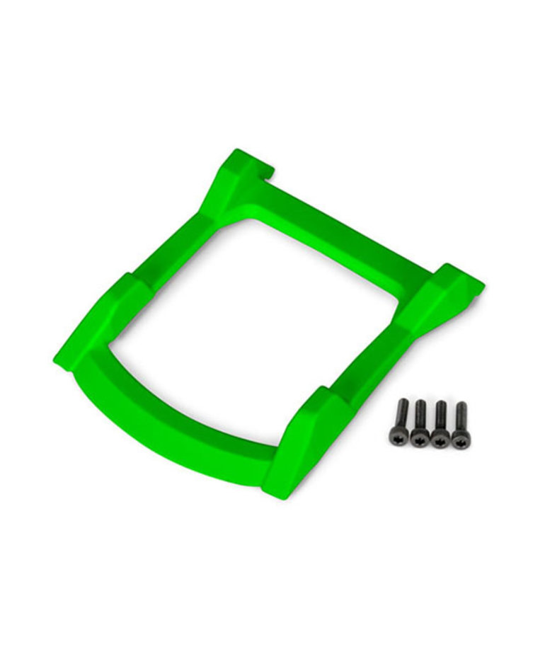 TRAXXAS BODY ROOF SKID PLATE GREEN