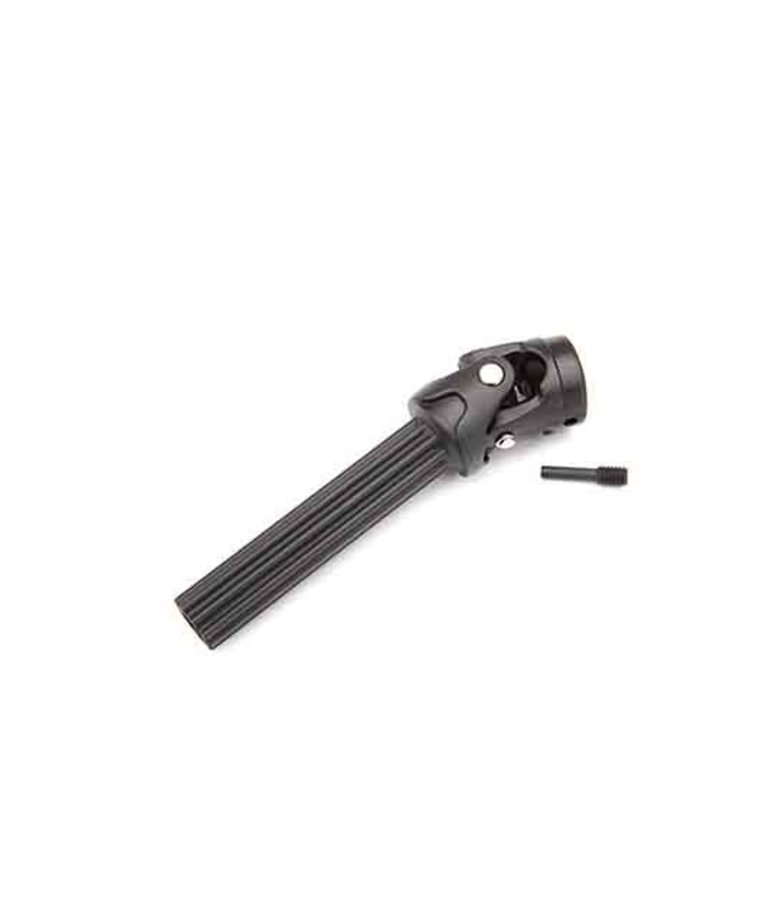 TRAXXAS DIFFERENTIAL OUTPUT YOKE ASSEMBLY, FRONT OR REAR (ASSEMBLED WITH EXTERNAL-SPLINE