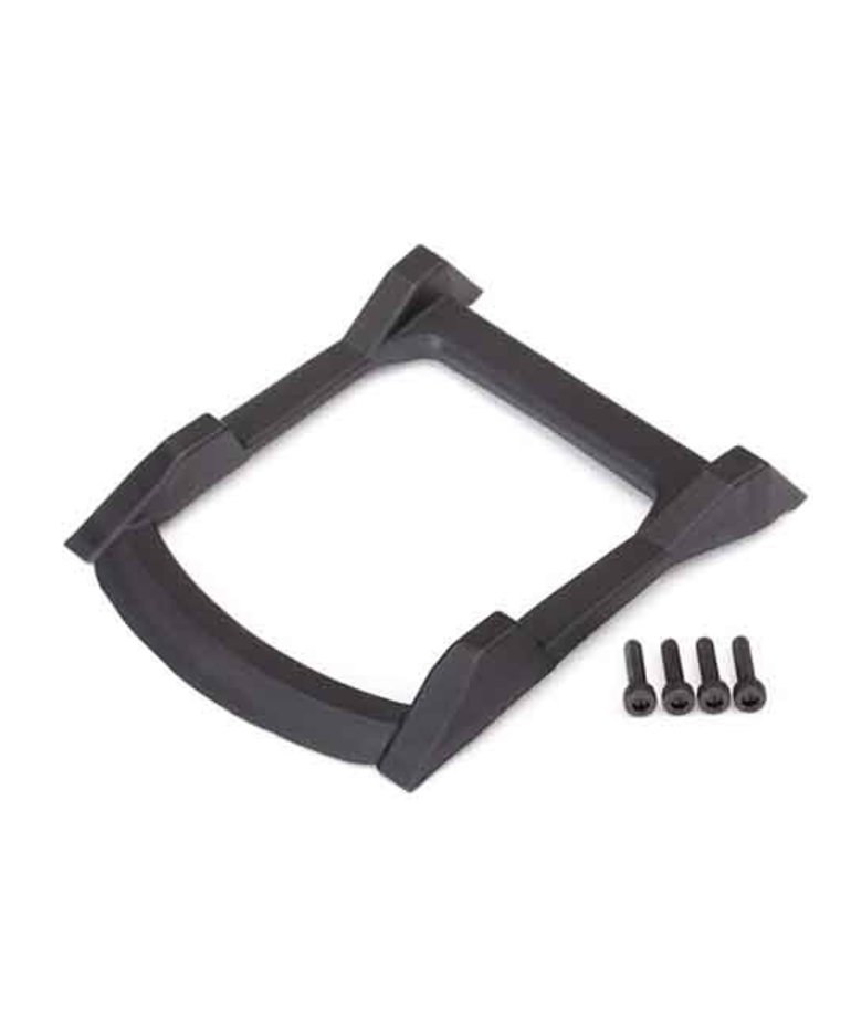 TRAXXAS BODY ROOF SKID PLATE BLK