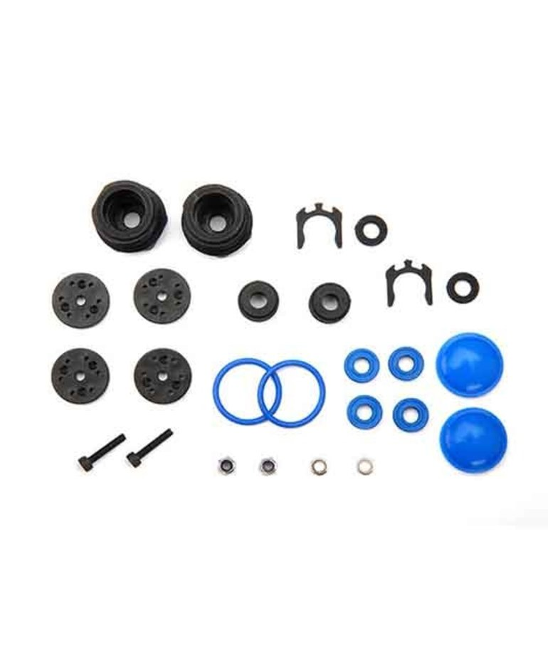 TRAXXAS Rebuild kit, GT-Maxx® shocks (lower cartridge, assembled, pistons, piston nuts, bladders) (renews 2 shocks)