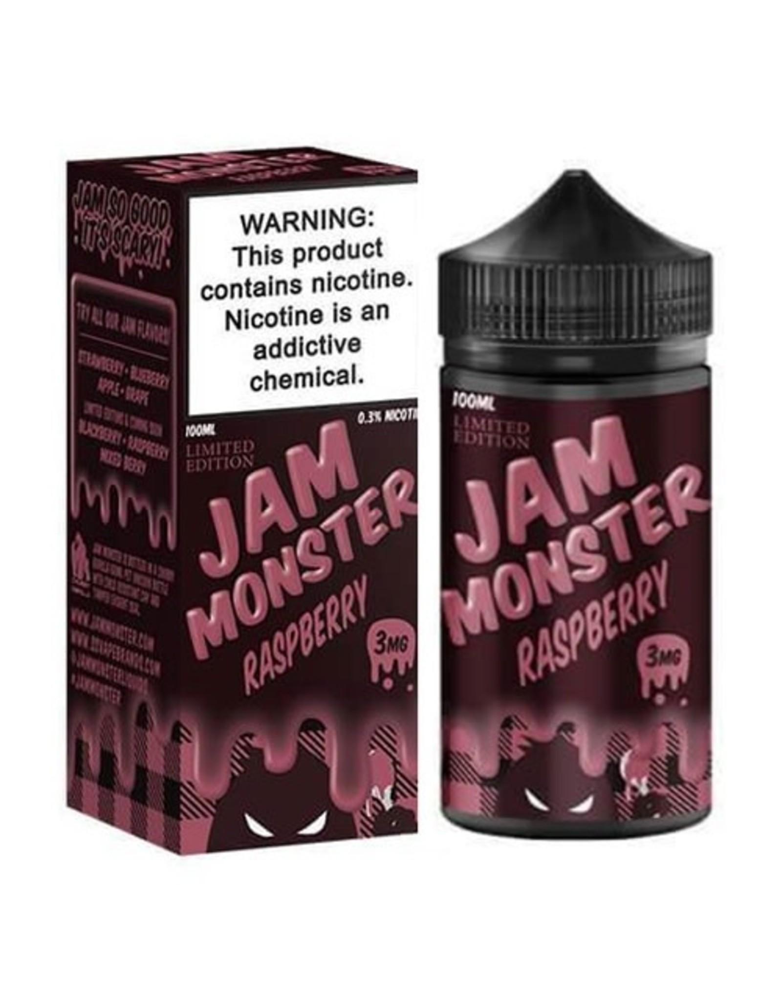 Jam Monster Jam Monster Raspberry 100 ML 6 MG