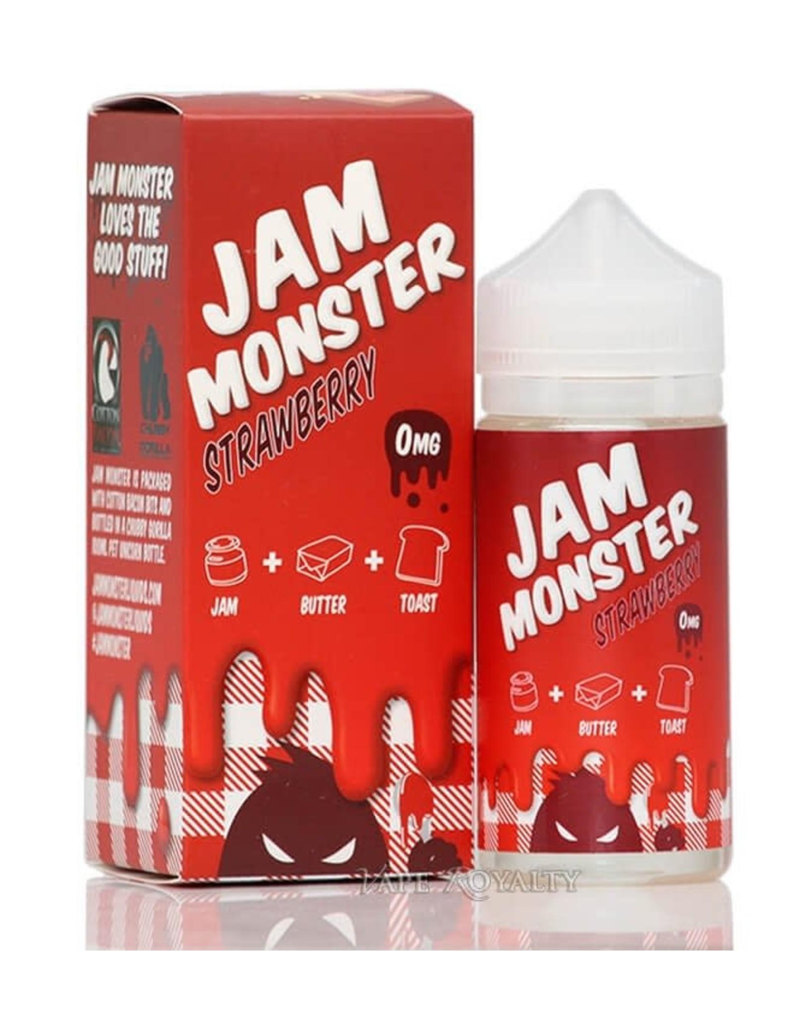 Jam Monster Strawberry 100mL 6mg