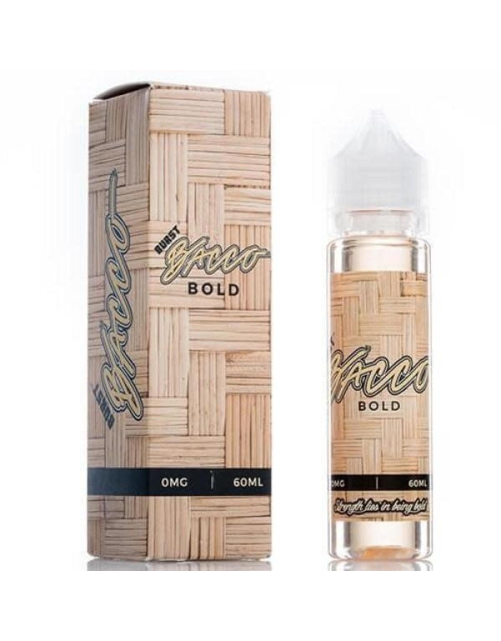 Burst E-liquid Bacco Bold 60 ML 0 MG