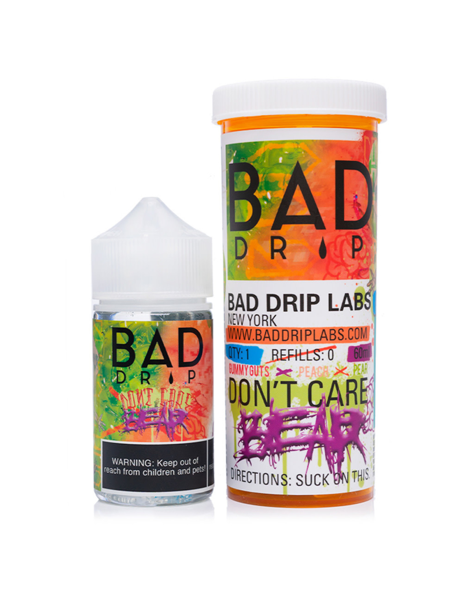 Bad Drip Juice Co. Bad Drip Juice Co. Don't Care Bear 60 ML 6 MG
