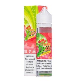 Burst E-liquid Burst E-liquid Duo Kiwi Strawberry 60 ML 0MG