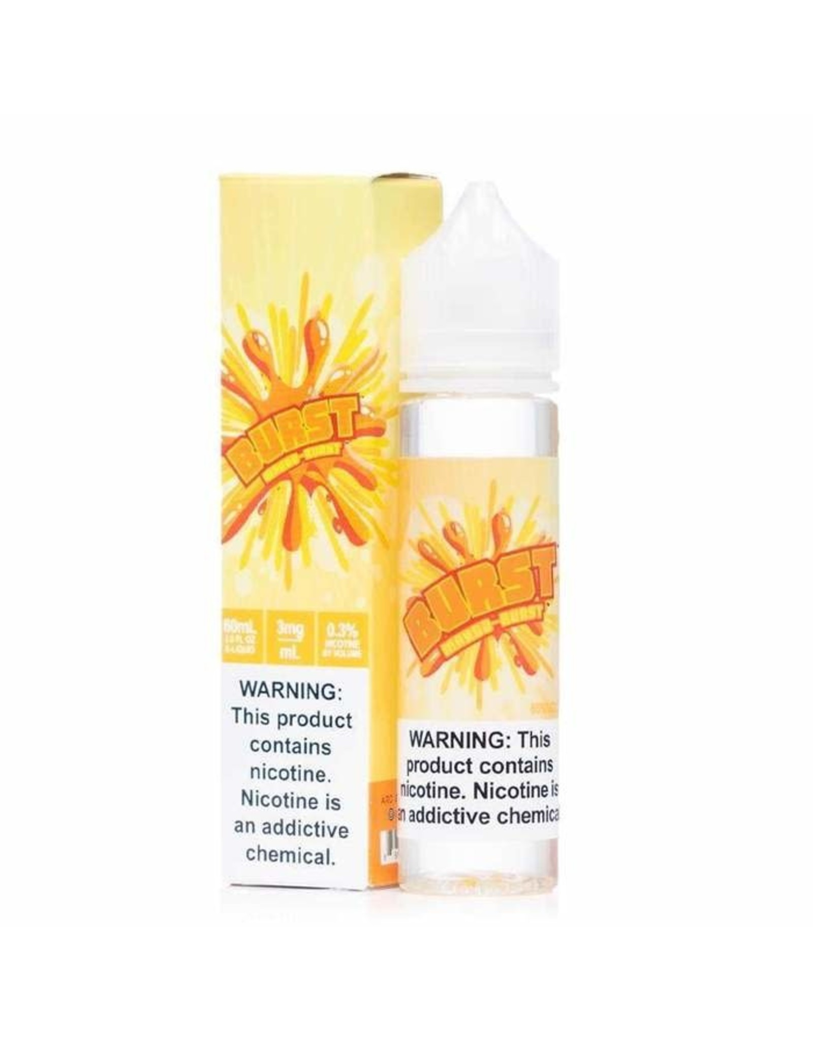 Burst E-liquid Burst E-liquid Mango-Burst 60 ML 0MG