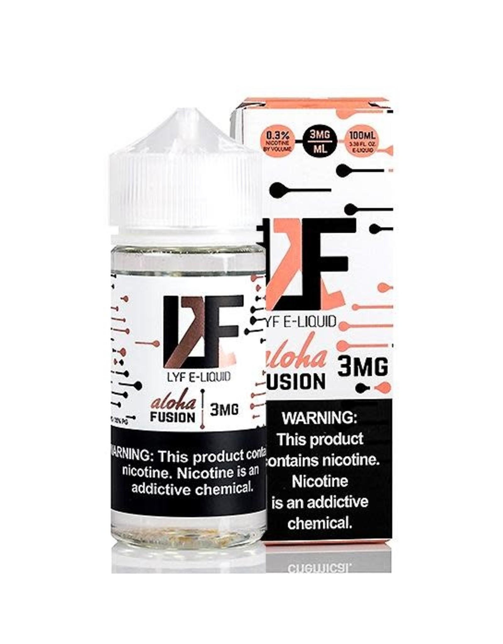 LYF Ejuice  Aloha Fusion 100 ML 6 MG