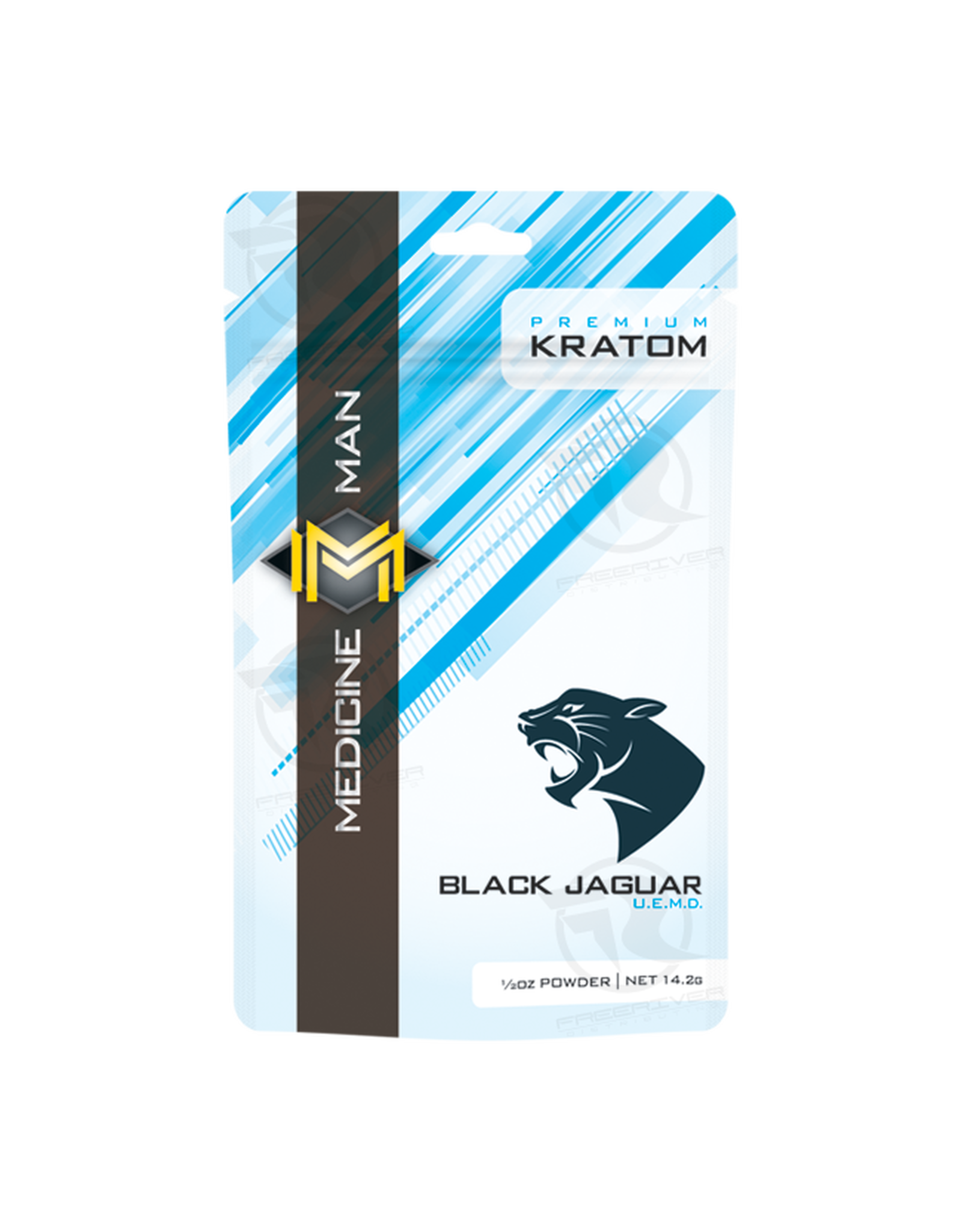 Medicine Man Kratom Black Jaguar 1/2oz Powder